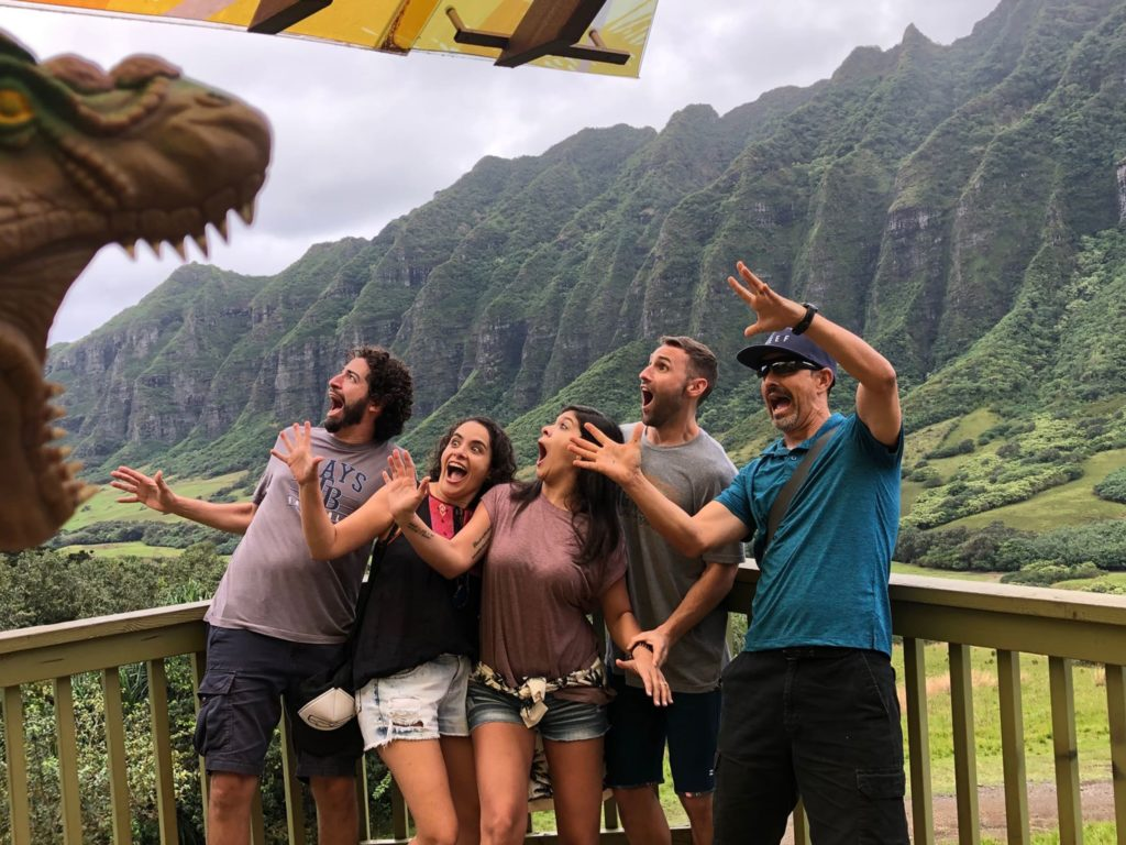 Oahu Jurassic Park Tour
