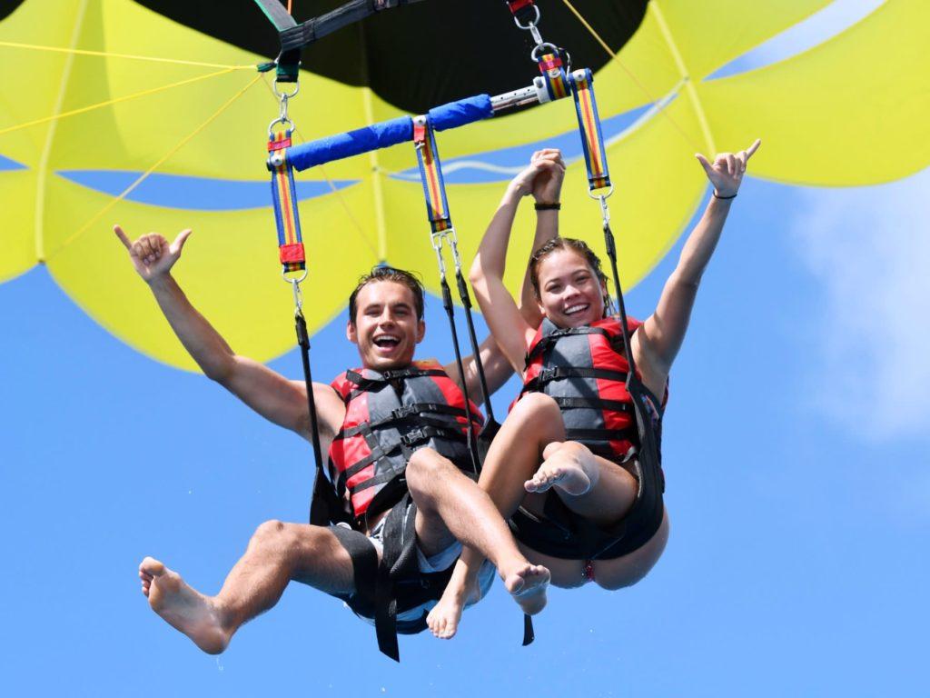Honolulu Jet Ski Ride & Parasail